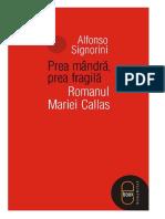Alfonso Signorini Prea mandra, prea fragila