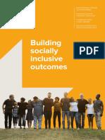 Building Socially Inclusive Outcomes