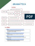 Lengua T3 y 4 Resumen estudio