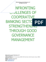 Confronting Challenges of Cooperative Banking Sector by Strengthening Through Good Governance Management [www.writekraft.com]