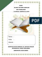 Buku Evaluasi