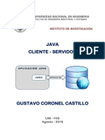 Java Cliente Servidor