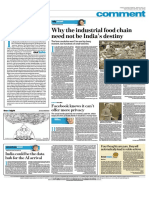 Why the Industrial Food Chain-Apr-2018