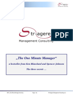 MGT One Minute Manager Summary