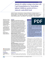 Rosita Amalia_Treatment of Scabies Using a Tea Tree Oilbased Gel Formulation in Australian Aboriginal Children Protocol for a Randomised Controlled Trial