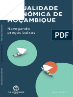 105088 Portuguese Bri Add Series p156495 Mozambique Economic Update March 2016 Pr