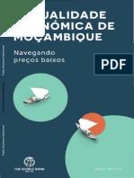 105088 Portuguese Bri Add Series p156495 Mozambique Economic Update March 2016 Pr