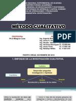 Bravo A. Et Al (2016). Enfoque de La Investigación Cualitativa, UNEG, Venezuela
