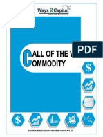 Commodity Research Report 09 October 2018 Ways2Capital
