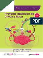 Folleto Informativo CÍVICA Y ÉTICA