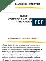4400-OXE Introduccion 2007