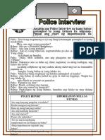 Police Report Print