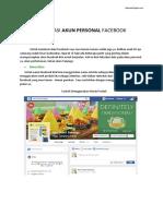 eBook - Optimasi Akun Facebook PERSONAL