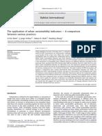 aplication urban sustainability indicators.pdf