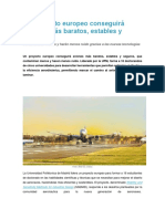 Un Proyecto Europeo Conseguirá Aviones Más Baratos