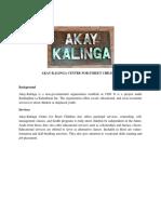 Akay Introduction