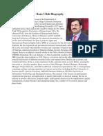 Raza Ullah Profile