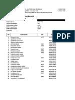 Format Nilai Rapor 20151 X a Ekonomi