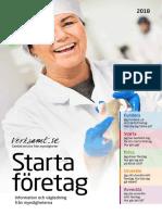Starta företag-broschyren, 2018