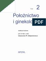 Bręborowicz - Położnictwo i Ginekologia (Tom II)