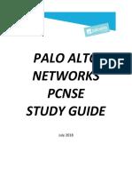 PCNSE 8.1_Study_Guide_2018.07