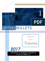 Ortho Bullets Volume One Trauma 2017