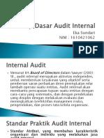 Konsep Dasar Audit Internal