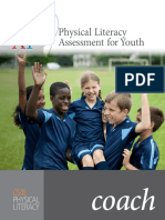 Physical Literacy Assessment for Youth Coach