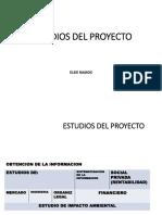 Estudios Proyectos2018