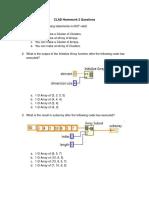 CLAD Homework 1 Questions