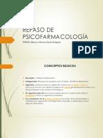 REPASO DE PSICOFARMACOLOGÍA UNED