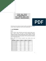 Bab 16 Statistik Non Parametrik Tip Trik Uji Lebih Dua Sampel Berhubungan
