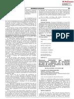Revocan resolución que declaró improcedente solicitud de inscripción de lista de candidatos para el Concejo Distrital de Ihuarí provincia de Huaral departamento de Lima