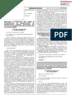 Ordenanza que regula el Procedimiento de Instalación y Desinstalación de Propaganda Electoral en el distrito
