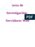 Tarea de Investigacion de Servidores