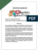 Conceptos Basicos SST (