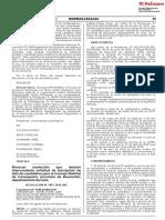 Revocan resolución que declaró improcedente solicitud de inscripción de lista de candidatos para el Concejo Distrital de Carampoma provincia de Huarochirí departamento de Lima