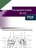 Artroplastia totala de cot