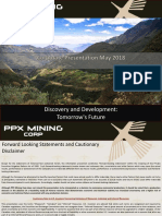 PPX Mining La Patagonia