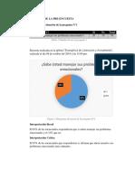 Graficos de Pre-Encuentas