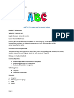 abc lesson plan with rubric