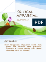 CRITICAL APPARSIAL PEB PPT.pptx