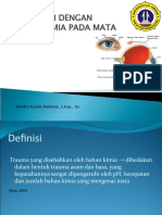 Asuhan Keperawatan Trauma Kimia Pd Mata (Chemical Trauma on Eye)