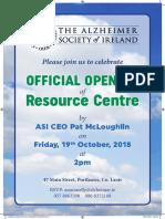 Laois Alzheimer's Branch Official Opening