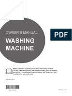 LG WD1409HPW Front Load Washer Dryer Combo User Manual