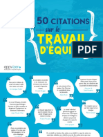 50 Citations Travail Equipe