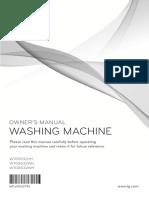 LG WTG9532VH 9.5kg Top Load Washing Machine User Manual