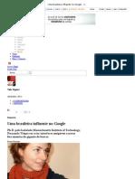 Uma brasileira influente no Google - Vida Digital - Notícia - VEJA