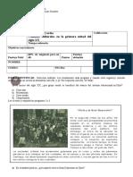 2º Medio - Prueba Primera Mitad Siglo XX Cambios Sociales y Culturales