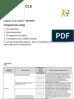 skills audit document